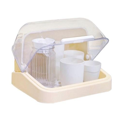 커버 멀티보관함 식기건조 젖병 간식 빵보관 화장품