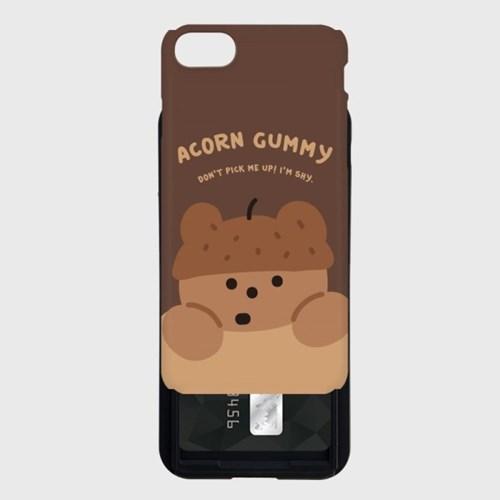 acorn gummy 카드슬라이드 케이스