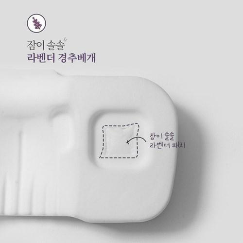 생활백서 잠이솔솔 라벤더 경추베개