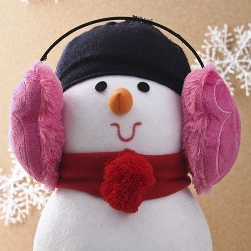 캐릭터 귀마개(핑크)