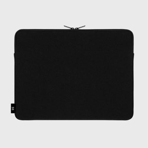 Dot flower bear-black-15inch notebook pouch