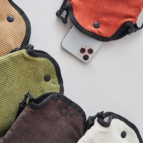 MOBILE POUCH X BAG _CORDUROY (핸드폰가방)