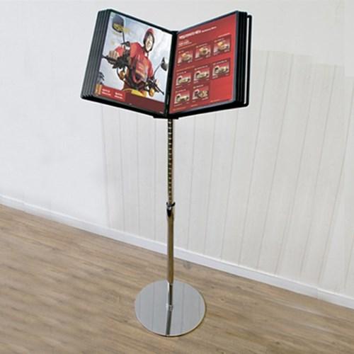 A4 메뉴북 스탠드 POP 대 / 카페 식당 메뉴판 4593