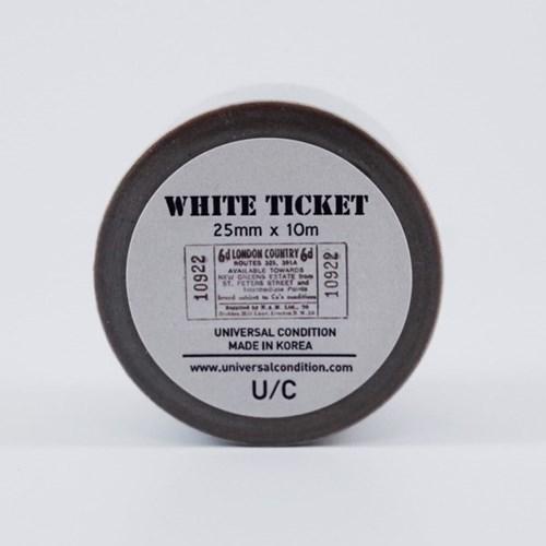 빈티지마스킹테이프-WHITE TICKET
