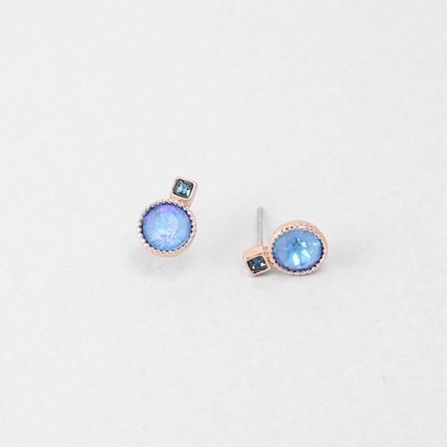 [쥬디앤폴] 블랑 아쿠아 마린 블루 크리스탈 귀걸이 E51650