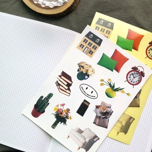 Vintage Sticker_Interior