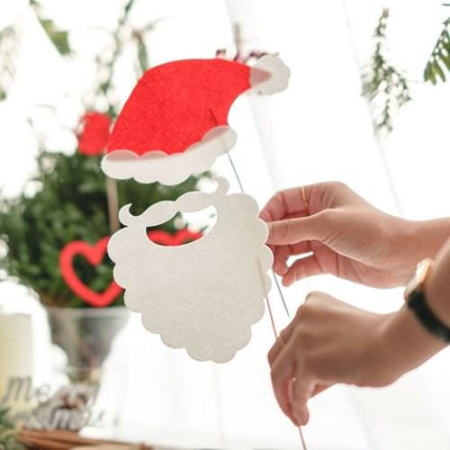 크리스마스 파티 포토 프롭스