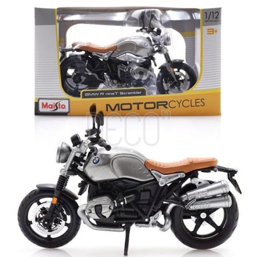 1:12 BMW R nine T 스크램블러 오토바이 미니카