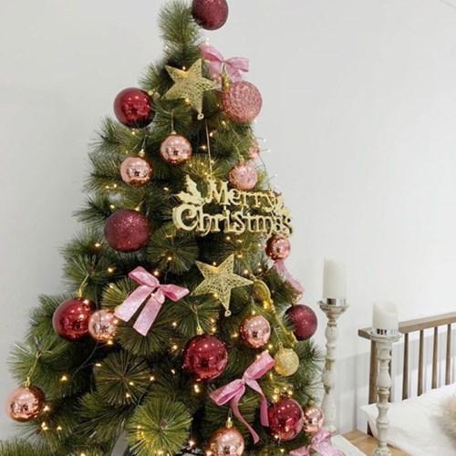 [비솜] 크리스마스 고급파인트리120cm세트 감성트리
