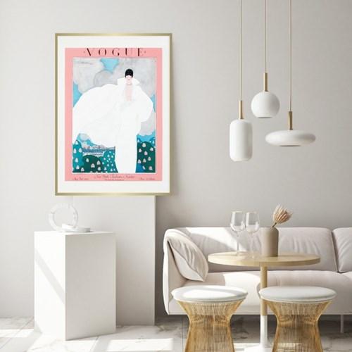 빈티지 보그 포스터 세서미프린츠
