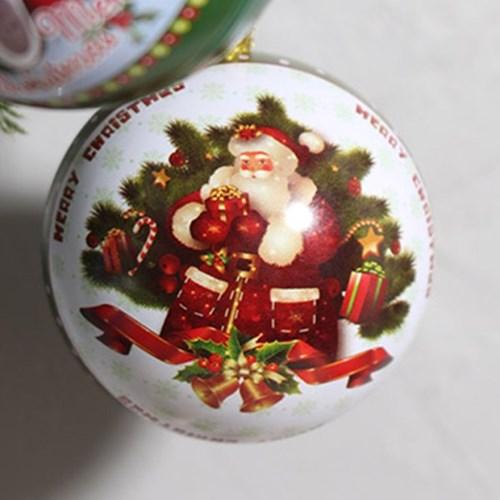 크리스마스 장식볼 일러스트 틴케이스 7개 세트_(2089715)