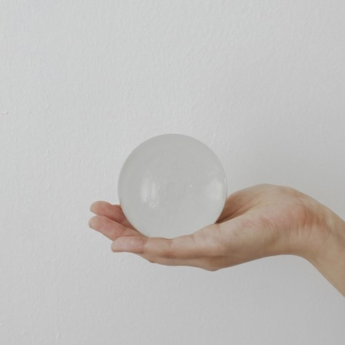 투명 유리구슬 크리스탈볼 인테리어 오브제