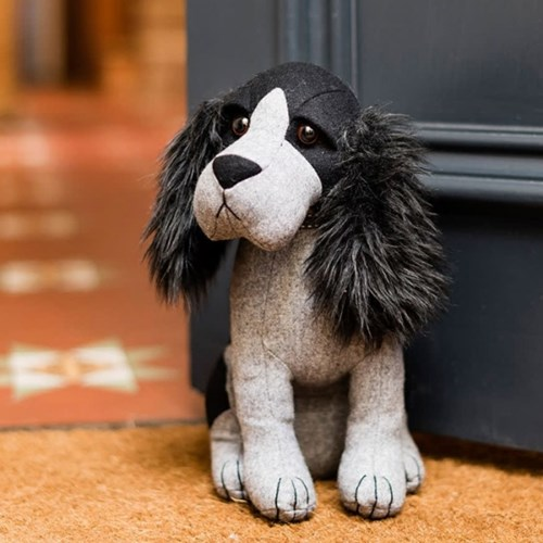 도라 스파니엘 강아지 도어스톱