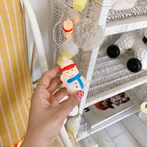 Snowman String lamp 눈사람줄램프