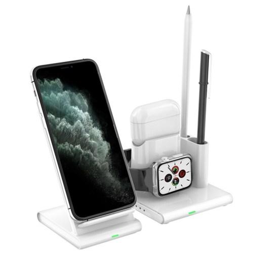 고속 무선 충전기 올인원 충전독 3IN1 (애플기기 동시충전)