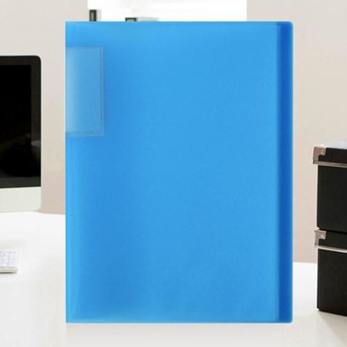 A4 인덱스 클리어파일(블루) (30매)