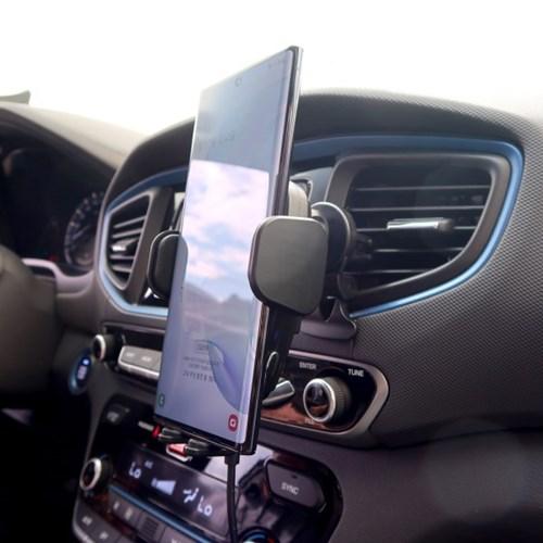 차량용 고속 무선 충전기 자동 거치대 CAR15W