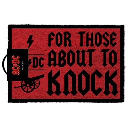 AC/DC 에이씨디씨 디자인 카페 현관 발매트_(1290687)
