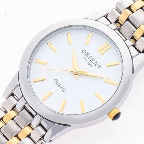 오리엔트 3기압 커플시계 남자 메탈손목시계 OT5005MA