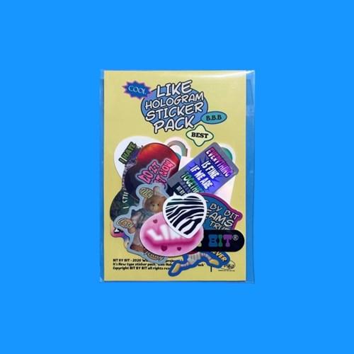 Like Hologram Sticker Pack