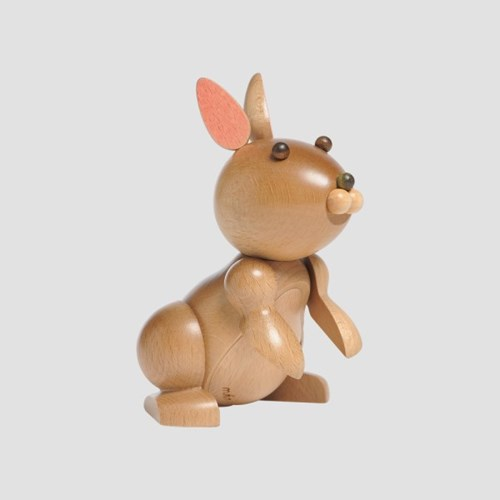 mufun 애니멀피규어 시리즈 - 분주한 산토끼