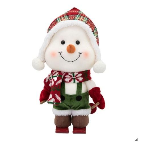 크리스마스 눈사람 장식인형 3종 세트