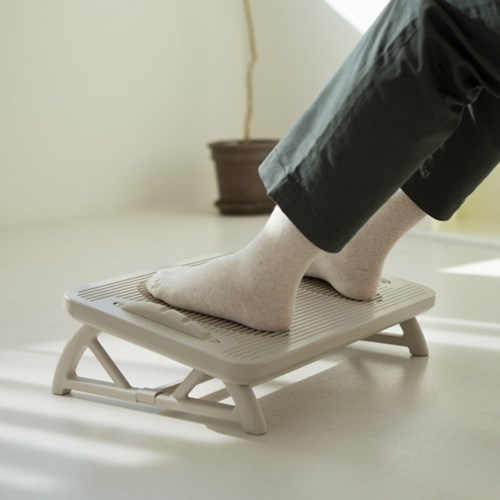 리빙숲 각도조절 가능 브리즈 사무실 발받침대/다리받침대