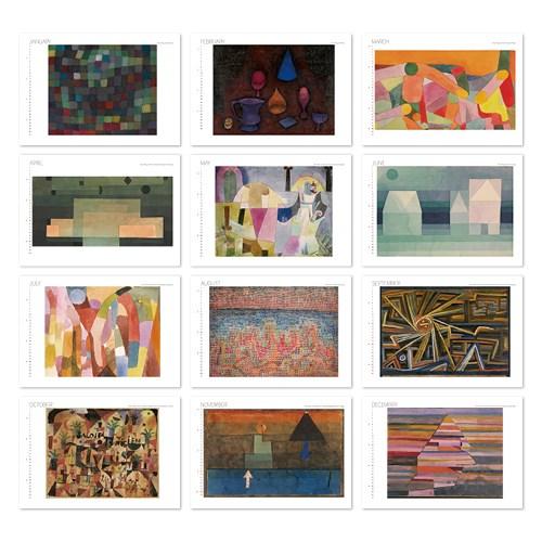 [2021 명화 캘린더] Paul Klee 파울 클레 Type A