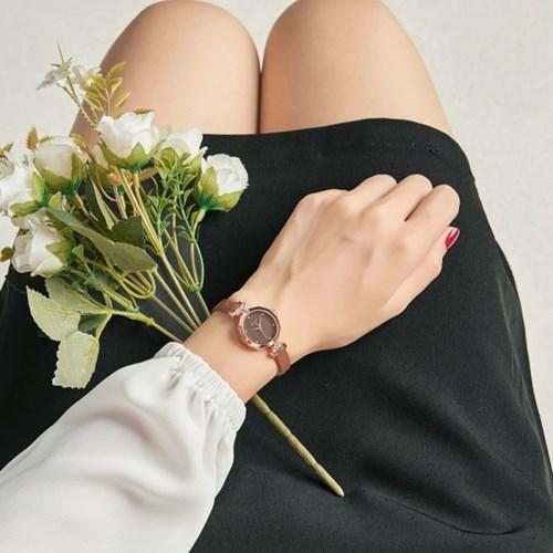 [쥴리어스스타 본사정품] JS-034 여성시계/손목시계/가죽밴드