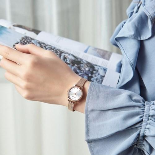 [쥴리어스스타 본사정품] JS-045 여성시계/손목시계/메쉬밴드
