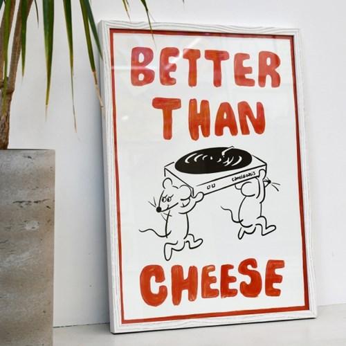 [카멜앤오아시스] Better Than Cheese 레코드 턴테이블 포스터
