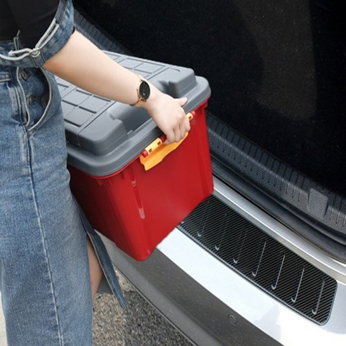 카본 트렁크 리어 범퍼 흡집방지 스크래치 보호 가드