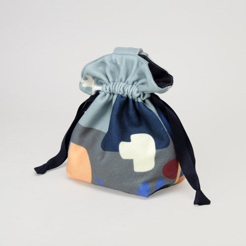 Fluffy daily objects mini string bag