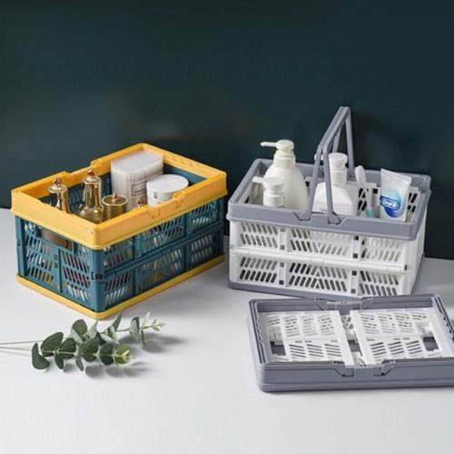 인블룸 손잡이 접이식 폴딩박스 중형 20L(1+1)_(3080325)