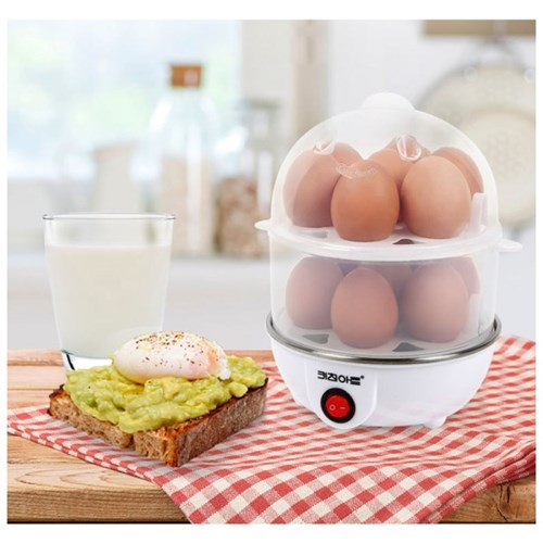 키친아트 찜기 KE-352MH 2단 계란14개 옥수수 고구마