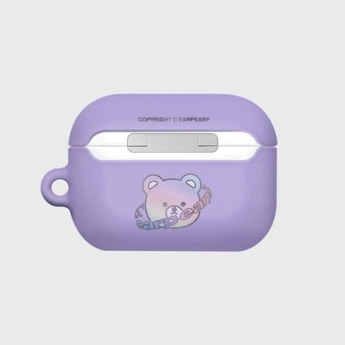 Twinkle gem bear-purple(Hard air pods pro)_(1724640)