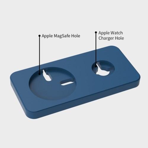 애플워치&맥세이프용  2in1 충전 거치대