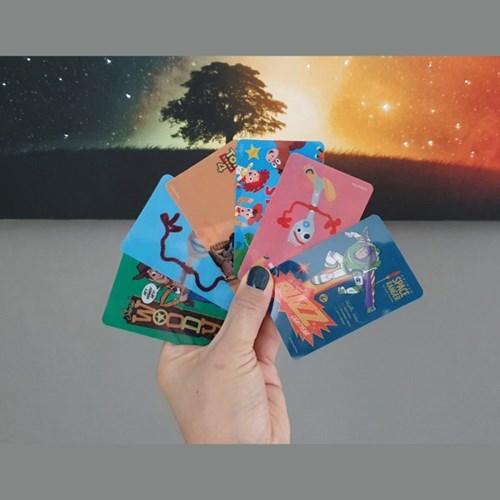 토이스토리 카드 스티커
