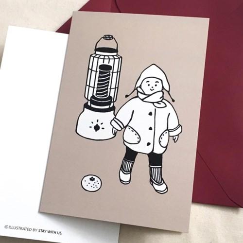 겨울아기 카드