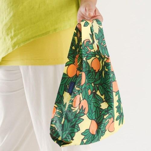 [바쿠백] 소형 베이비 에코백 장바구니 Orange Tree_(5297973)