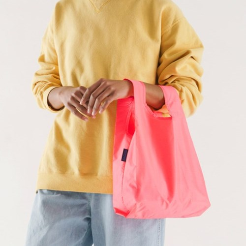 [바쿠백] 소형 베이비 에코백 장바구니 Watermelon Pink_(5297970)