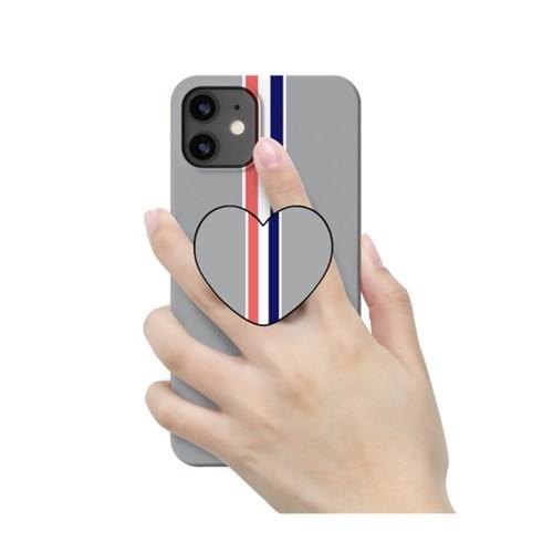 [T] 컬러라인 하트 스마트톡 3D곡면하드케이스