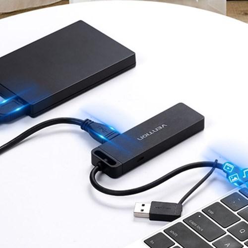 벤션 2in1 USB 3.1 Gen1 C타입 to USB3.0 멀티허브