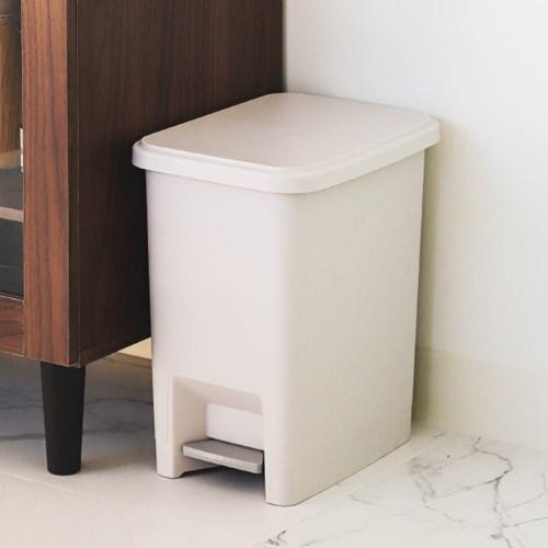 아이리스 2칸 분리형 페달 휴지통 쓰레기통 PD-15_(1876352)