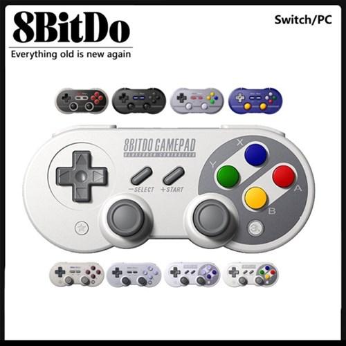 닌텐도 스위치 8BITDO SN30pro 레트로 SNES 모델 + 폰스
