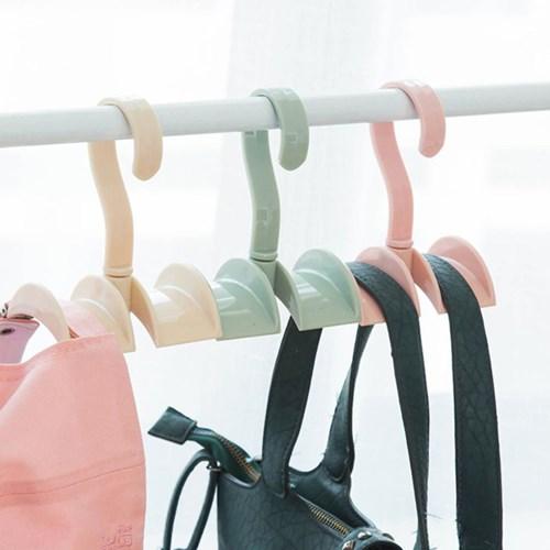 두개걸이 가능한 360도 돌아가는 편리한 가방 걸이