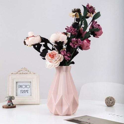 아그네스 인테리어꽃병(핑크) /감성 패턴 화병
