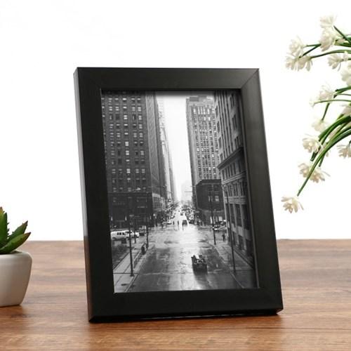 포토닉 사진 액자(4x6) (블랙) 벽걸이 탁상액자