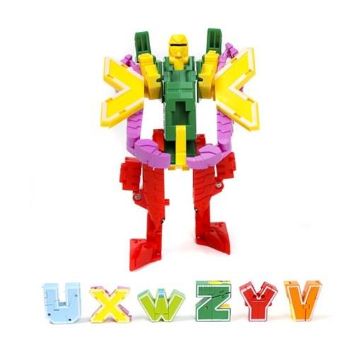 인섹트테라 알파벳 변신로봇/장난감 로보트 합체로봇