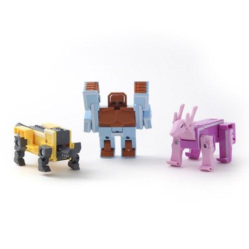 와일드테라 알파벳 변신로봇/합체로봇 로보트 레고